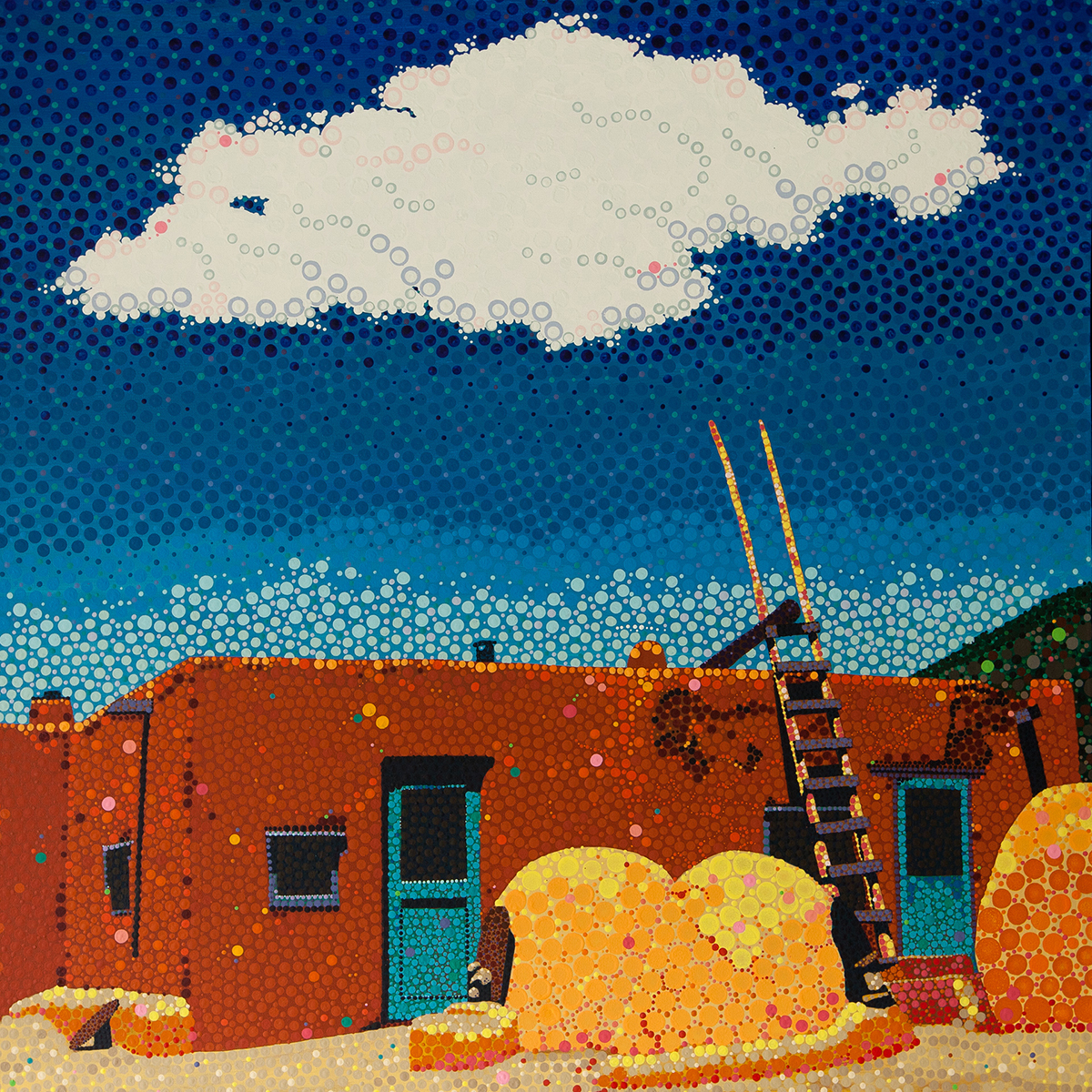 Taos Pueblo by Julie Clement