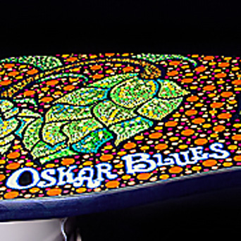Oskar Blues Bench